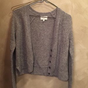 Gilly Hicks Sweaters - 💕LOWEST💕Light Gray-Wooly Cardigan
