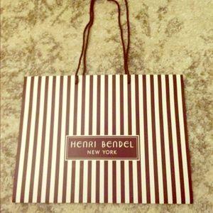 henri bendel Other - Henri Bendel Shopping Bag