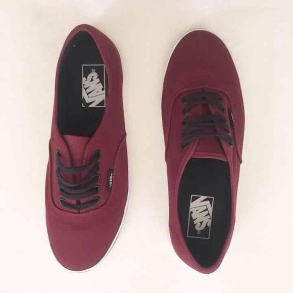 Vans Shoes - NIB Maroon Burgundy VANS Sneakers