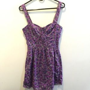 Free People Dresses & Skirts - FREE PEOPLE Purple Wishy Printed Sleeveless Dress