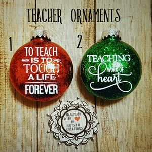 other teacher ornaments