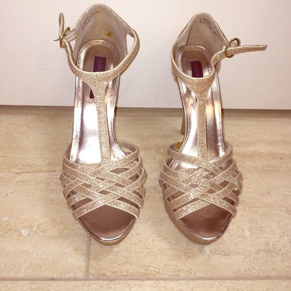 1546414c6f Macy's Shoes | Gold High Heel Pumps | Poshmark