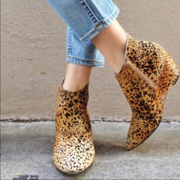 Matisse Nugent Leopard Bootie   Poshmark