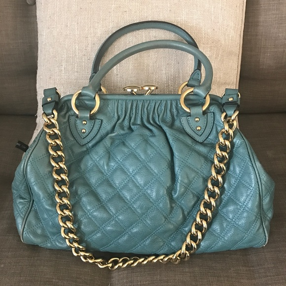 0953679423e7 Marc Jacobs Stam Large- teal blue color. M 58a22fe4f0137d100e01a130. Other  Bags ...