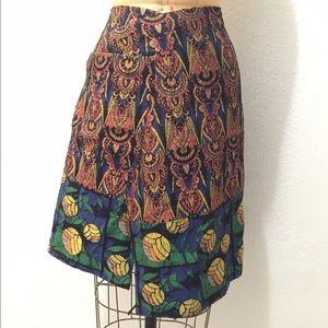 Dries Van Noten Spring 2015 skirt  size 36