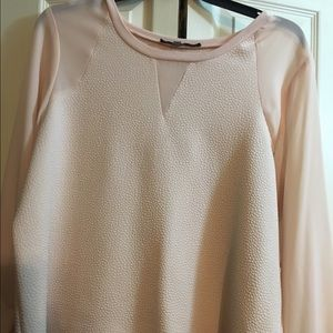 Tops - Plus size long sleeve dressy top