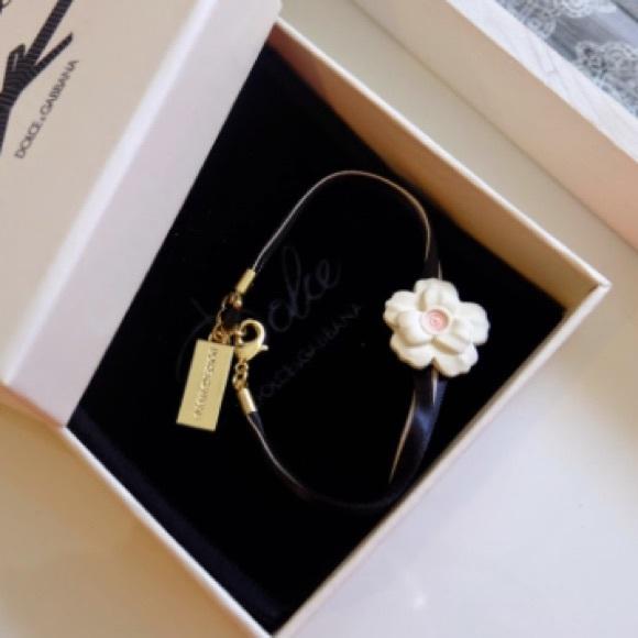 56f3d8f0 Dolce & Gabbana Jewelry - Dolce and Gabbana Flower and ribbon bracelet