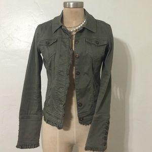Anchor Blue Jackets & Blazers - Boho Chic Military Style Retro Pinup