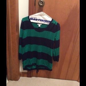 Nautical Old Navy Lightweight Sweater Size Small
