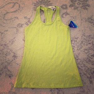 Champion Tops - Lime green Champion Double Dry gym workout top