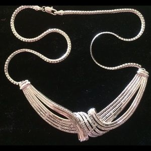"2.0 CT Real Diamonds Heart Choker Necklace (16"")"