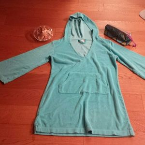 Capelli of New York Other - Turquoise Beach Cover Up/Robe - L