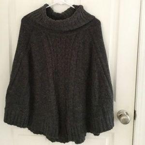 Apt. 9 Sweaters - Apt 9 Grey poncho