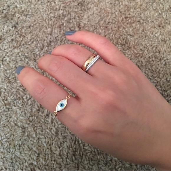 Jewelry Mejuri Evil Eye Ring 14k Solid Gold Poshmark