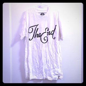 Men's Urban outfitters t shirt (The End)