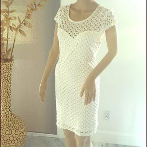 NWOT Forever 21 White Dress-Size M