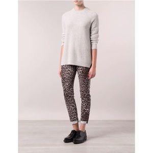 Rag & Bone Smow Leopard Boyfriend Jeans-NWT $198