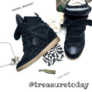 Isabel Marant Shoes - 💋 Isabel Marant Over Basket Suede Wedge Sneakers