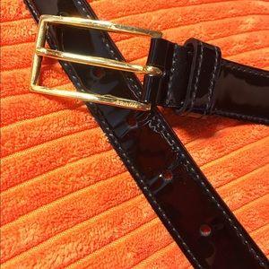 "Prada Patent Leather Belt 32"""