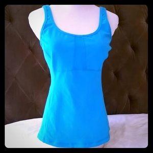 lululemon athletica Tops - Luluemon bright blue tank