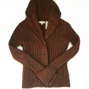 Weatherproof Sweaters - Brown Sweater Cardigan