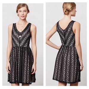 Moulinette soeurs black lace dress