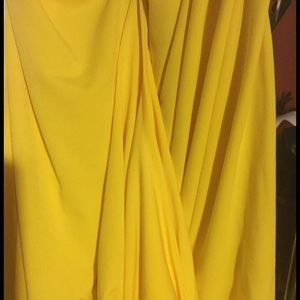 Qristyl Frazier Designs Dresses - Qristyl Frazier Designs yellow Empress dress 20 2x