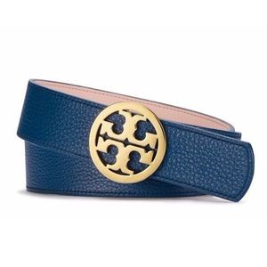 TORY BURCH Reversible Logo Belt