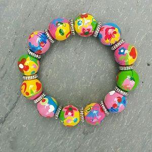 Angela moore  Jewelry - Angela moore flower bracelet