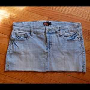 Forever 21 Denim Mini Skirt Size Medium