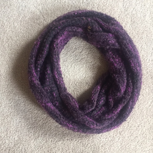 Additonal 50 Off Purple Infinity Scarf Os From