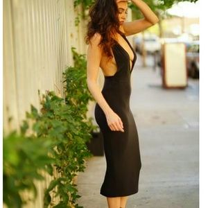want my look  Dresses & Skirts - Sexy black midi dress