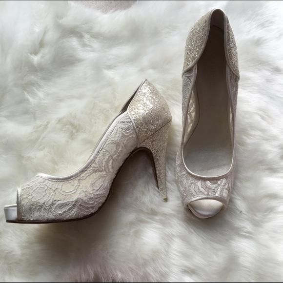 29fdd13e0c Menbur white lace glitter heel 37. M_57caf0a25c12f8a79700b907