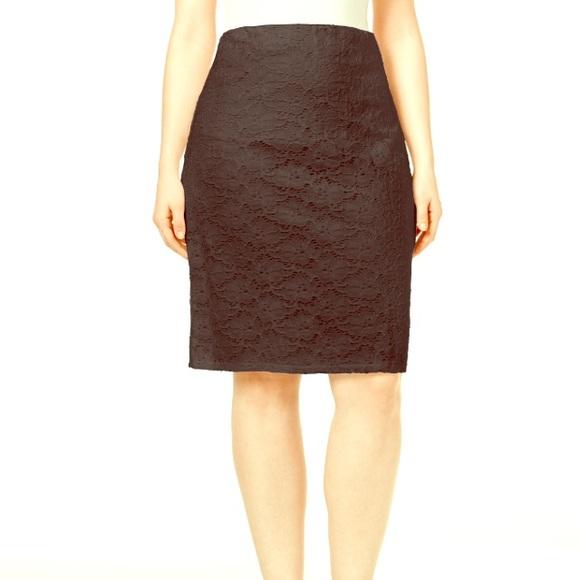 102ccc3c583ec Alfani Dresses & Skirts - Plus Size Lace Pencil Skirt 💕