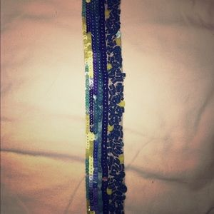 Stretchy, Sequined Belt from Loft