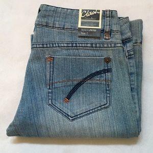 Clash Flare Leg Stretch Jeans size 7