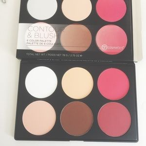 NEW Bh Cosmetics Contour & Blush Palette