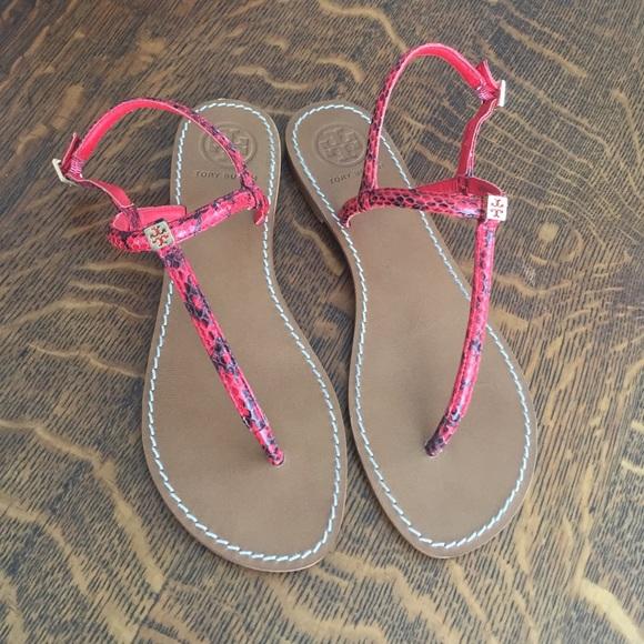 1d42b289419c ... Snakeskin Alfie Thong Flat Sandals. M 57cb00106d64bc4e1c00ee2c