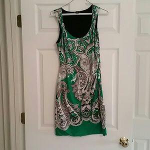 INC. Brand Patterned Dress