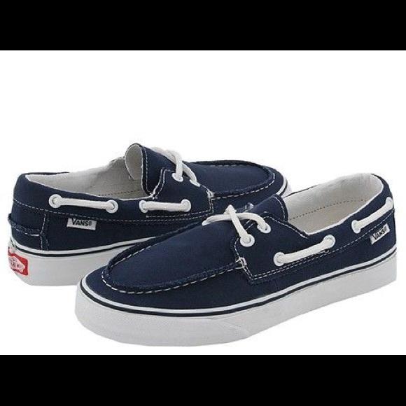 Vans Shoes | Navy Vans Zapato Del Barco