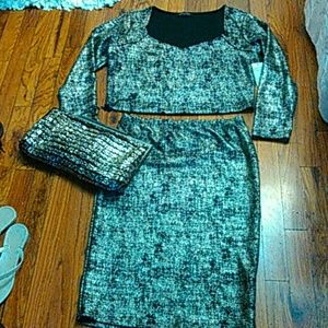 Fashion to Figure Dresses & Skirts - Glitzy Outfit Bundle Deal