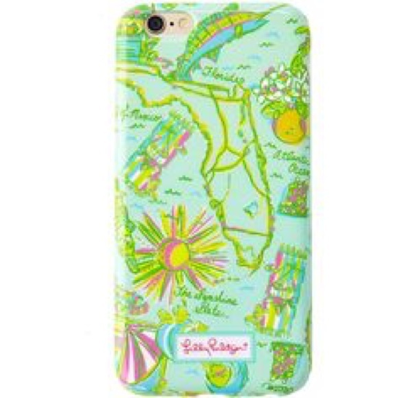 Lilly Pulitzer Florida Iphone Case
