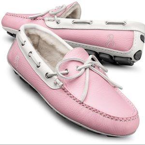 Allen Edmonds Shoes - Allen Edmonds Pink Breast Cancer Loafers