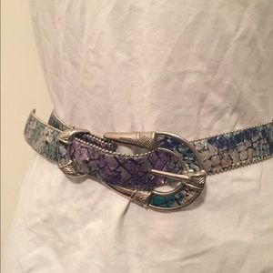 Accessories - Vintage Colorful Belt