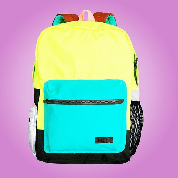Funky and colorful backpacks ! e85fd1f49ed8f