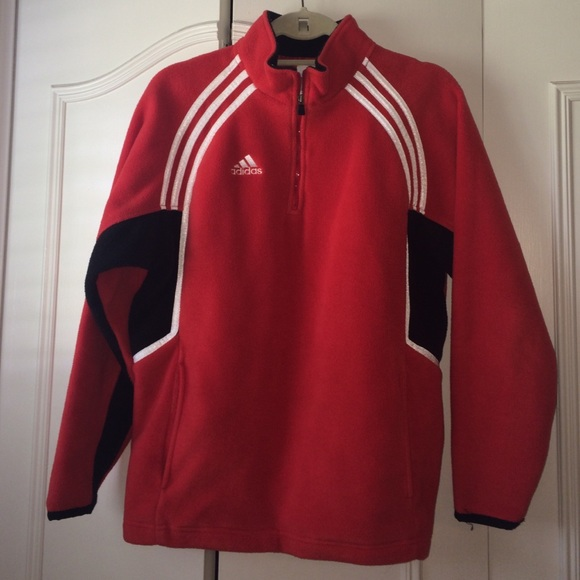 adidas 1/4 zip fleece