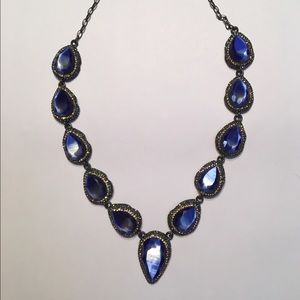 Jewelry - Blue tiger eye necklace