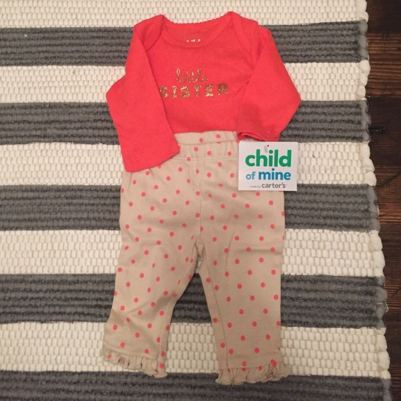 ea041a323 Carter's Matching Sets | Little Sister Outfit | Poshmark