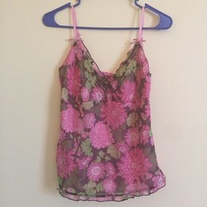 Lilly Pulitzer Tops - Lilly Pulitzer🌴100% Silk Cami - Fully Lined