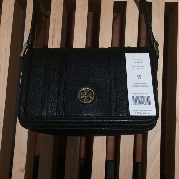 56014fc66bfd 🎀TORY BURCH🎀 Landon Mini Bag w adjustable strap